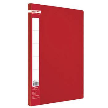Папка клип-файл А4 с 1 зажимом Buromax BM.3401_Красный