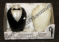 Свадебные свечи жених с невестой