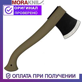 Сокира Morakniv з вуглецевої сталі Моракнайв пластикова рукоятка
