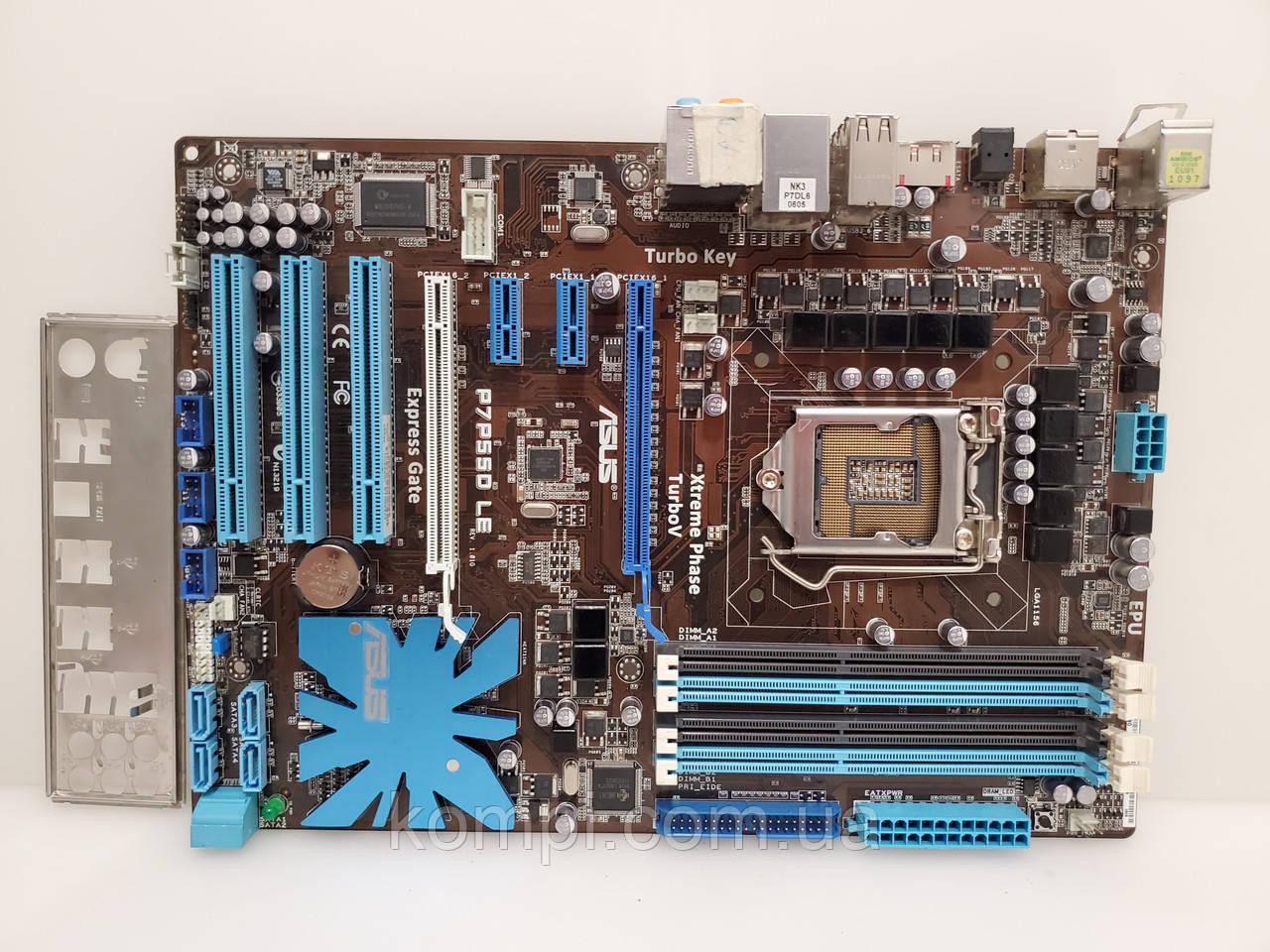 Материнская плата ASUS P7P55D LE  s1156 DDR3
