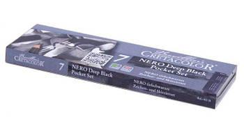 Набор угля Nero Pocket CRETACOLOR 7шт. метал. коробка 40008
