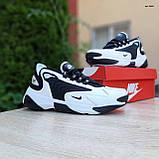 Кросівки чоловічі розпродаж АКЦІЯ 750 грн Nike Zoom 2K 46й(29.5 см) останні розміри люкс копія, фото 9