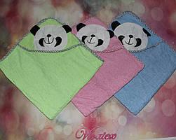 Полотенце детское Панда махра