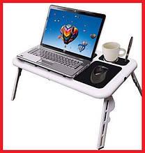 Підставка столик для ноутбука кулер ColerPad E-Table LD09
