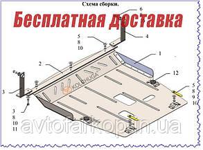 Защита двигателя Ford Ecosport (2020-)(Защита двигателя Форд Екоспорт) Кольчуга