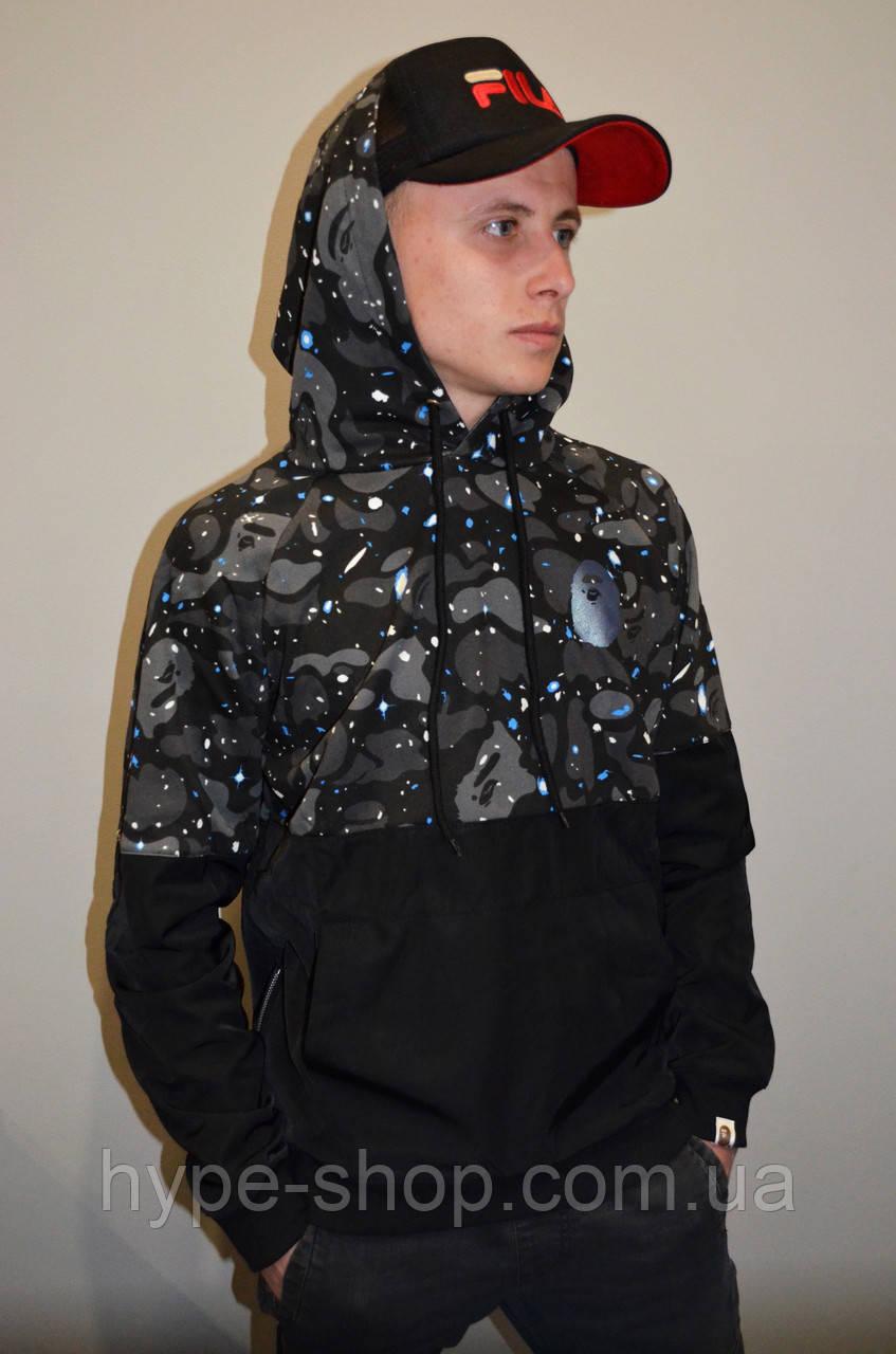 Чоловіча куртка-анорак Bape star Куртка-Анорак Bape star