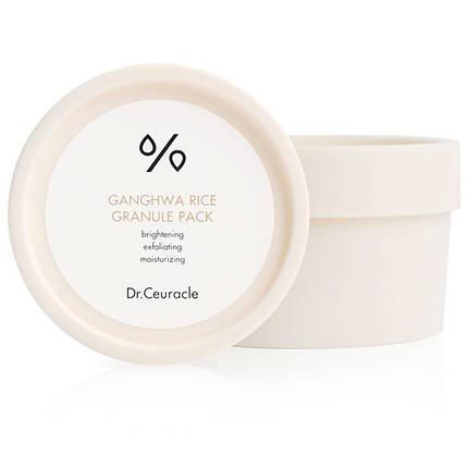 Зволожуюча маска для обличчя з екстрактом рису Dr.Ceuracle Ganghwa Rice Granule Pack, 115г, фото 2