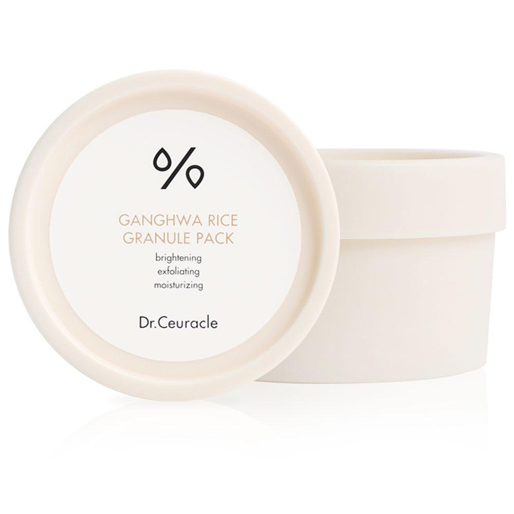 Зволожуюча маска для обличчя з екстрактом рису Dr.Ceuracle Ganghwa Rice Granule Pack, 115г