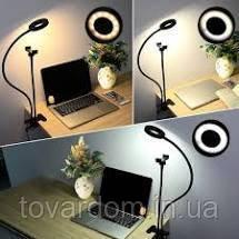 Подсветка для стриминга, лампы для блогеров,держатель и кольцо для селфи