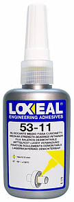 Фіксатор підшипників LOXEAL 53-11, середня міцність, зазор 0,12 мм, t-55/+150°C, 50 мл