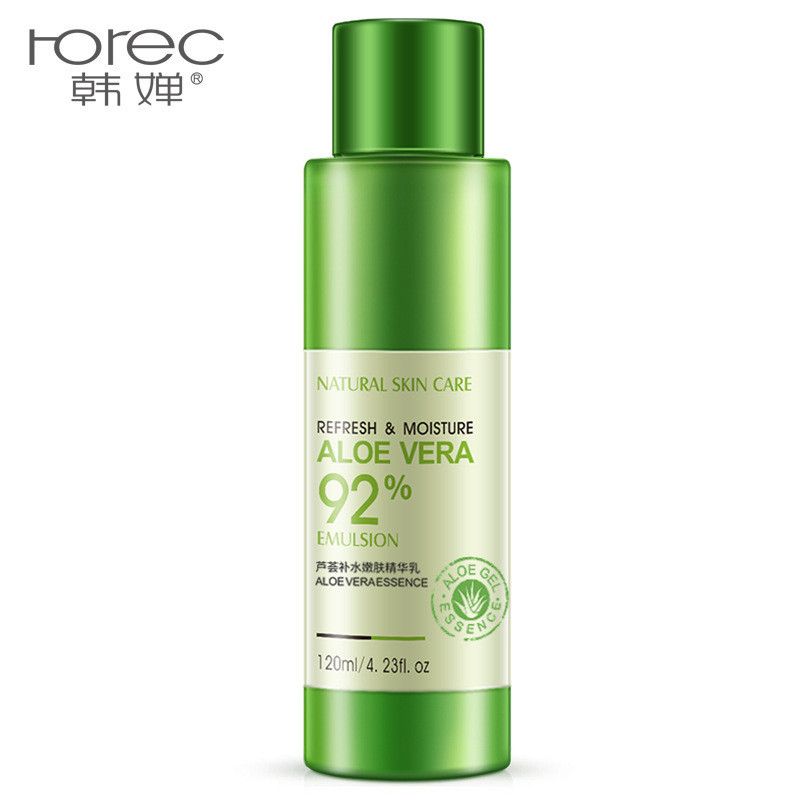 Эмульсия для лица с экстрактом алоэ вера Rorec Refresh & Moisture Aloe Vera 92% Emulsion, 120мл