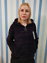 Курточка из шерсти альпака с капюшоном