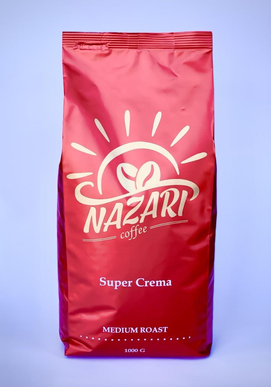 Кофе в зернах Nazari Coffee Super Crema, 1кг