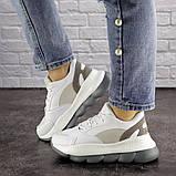 Женские кроссовки 39 размер 24 см Белые, фото 9