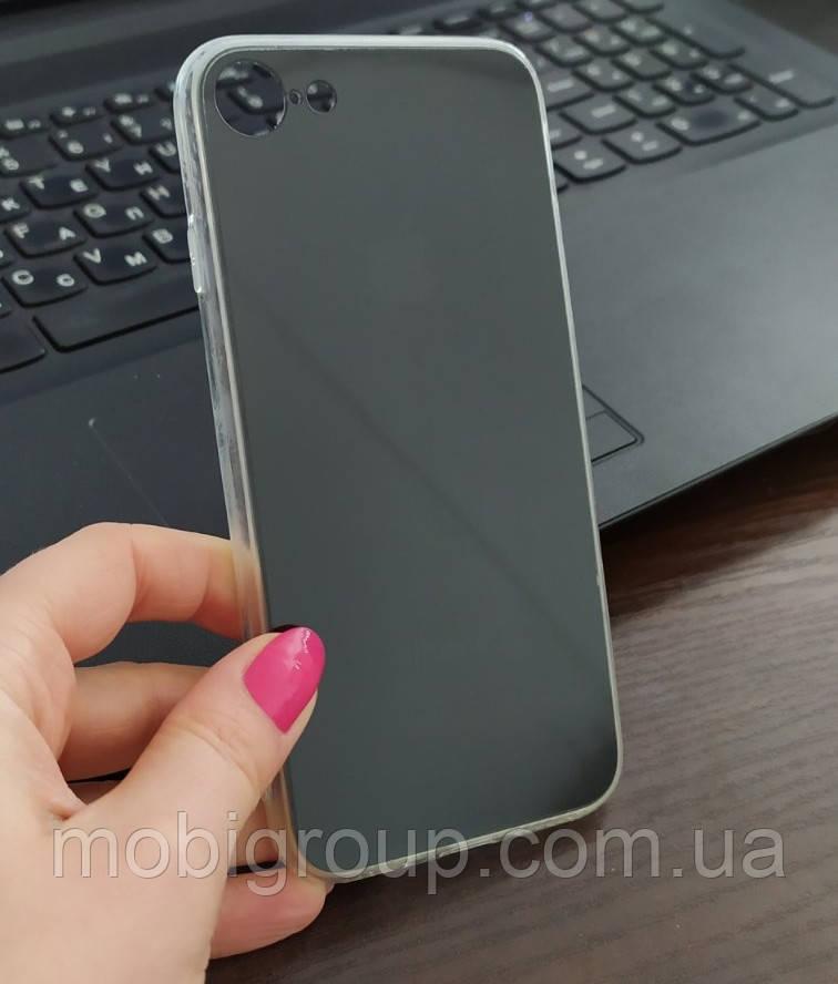 """Чехол силиконовый """"Оригинальный"""" для iPhone 7/8, Черный"""