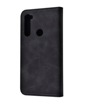 Чехол-книжка TPU Magnet for Xiaomi Redmi Note 8T Black, фото 2