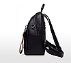 Рюкзак жіночий шкіряний трансформер сумка Hilary Hefan Daishu, фото 6