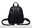 Рюкзак жіночий шкіряний трансформер сумка Hilary Hefan Daishu, фото 5