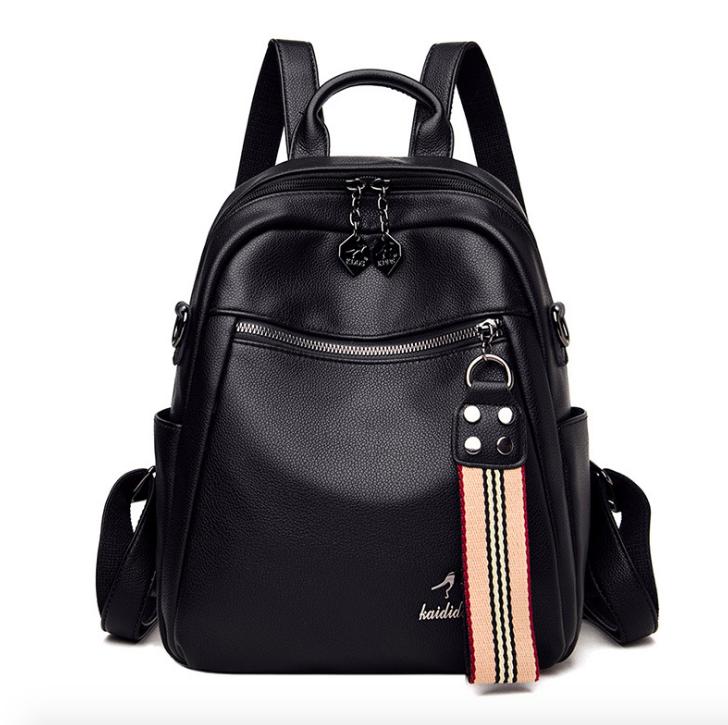 Рюкзак жіночий шкіряний трансформер сумка Hilary Hefan Daishu