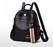 Рюкзак жіночий шкіряний трансформер сумка Hilary Hefan Daishu, фото 2
