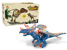 Динозавр звук, свет, движется, 60097A