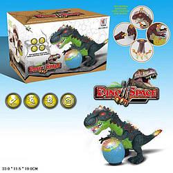 Животные динозавр, свет, звук, ходит, YJ388-33