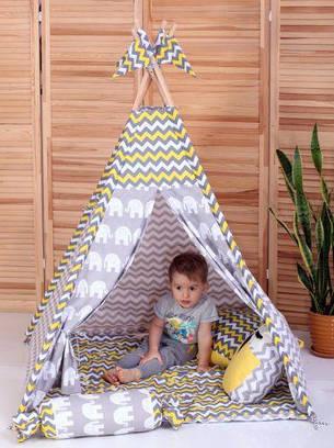 Вигвам Хатка комплект Египет с подушкой, фото 2
