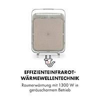 Klarstein HeatPal Marble Тепловий інфрачервоний обігрівач 1300W 30m2