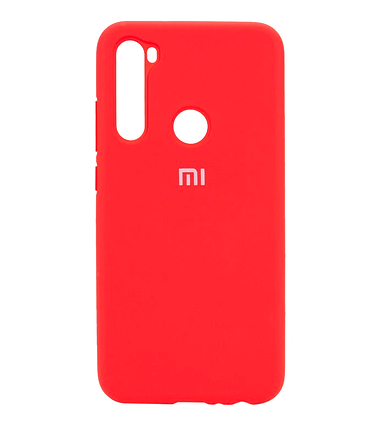 Silicone Case Full for Xiaomi Redmi Note 8T Red, фото 2