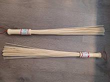 Масажний віник бамбуковий 1 шт УЦІНКА має тріщину на ручці