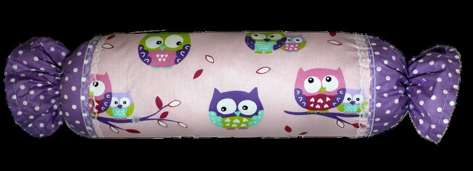 Подушка Хатка Конфета Фиолетовые Совы, фото 2