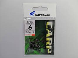 Крючек Hayabusa K-1XS Black Nickel №6