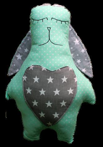 Подушка Хатка Заяц Звезды, фото 2