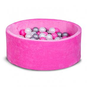 Бассейн для дома сухой, детский, розовый 80 см, фото 2