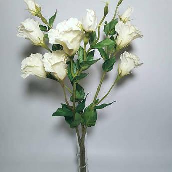 Искусственные цветы. Эустома, молочная.