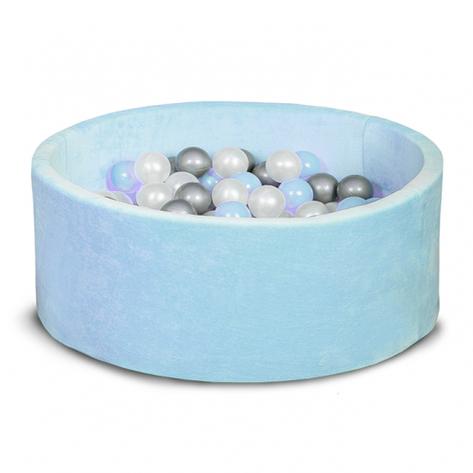 Бассейн для дома сухой, детский, голубой 80 см, фото 2