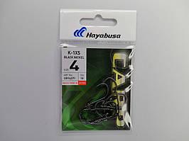 Крючек Hayabusa K-1XS Black Nickel №4