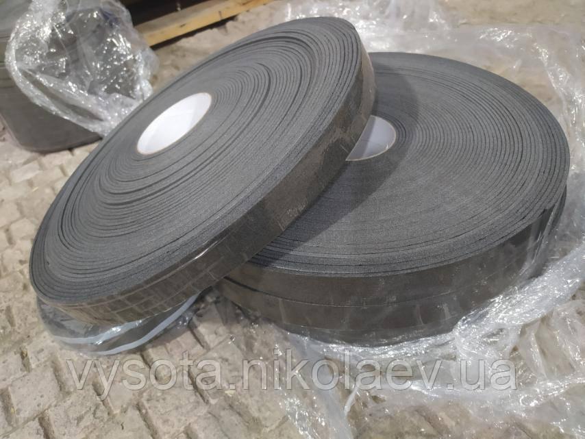 Ущільнювальна стрічка з синтетичного каучуку з липким шаром 15 мм