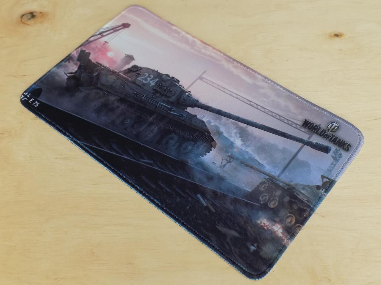 Ігрова поверхня килимок для миші танки WOT E75