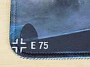 Ігрова поверхня килимок для миші танки WOT E75, фото 2