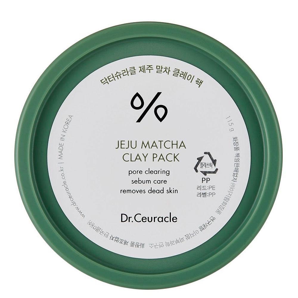 Очищающая глиняная маска с матчей Dr.Ceuracle Jeju Matcha Clay Pack, 115 г