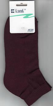 Шкарпетки жіночі бавовна махрова стопа Класик, арт.9B-41, 23-25 розмір, темно-фіолетові