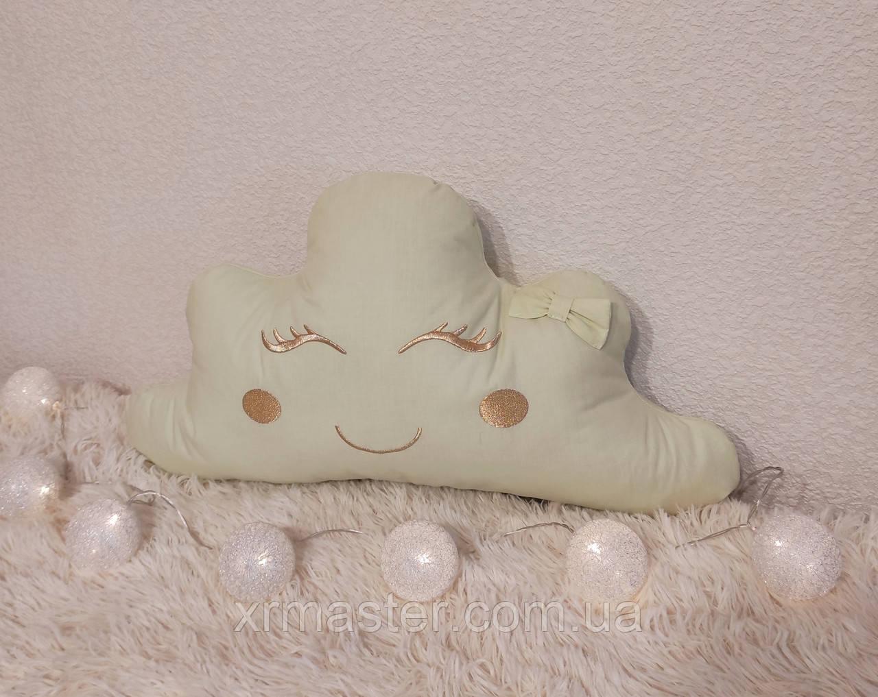 Подушка Салатовое Облачко