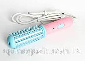 Плойка расческа для выпрямления и завивки волос 25 Вт FD-008