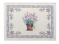 "Салфетка праздничная гобеленовая ""Lilac"" ТМ Lеfard, размер 35х50 см"