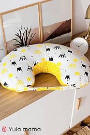 Удобная подушка для кормления новорожденных с ремешком