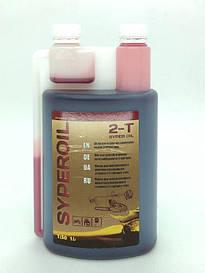 Масло Super Oil для 2-х так. двигателей с дозатором красное