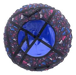 Тюбинг надувной  / Ватрушка / Надувные санки ПВХ диаметром 100 см., Triangle