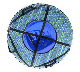 Тюбинг надувной  / Ватрушка / Надувные санки ПВХ диаметром 100 см., Superhero