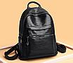 Рюкзак жіночий шкіряний Pretty Hefan Daishu, фото 4